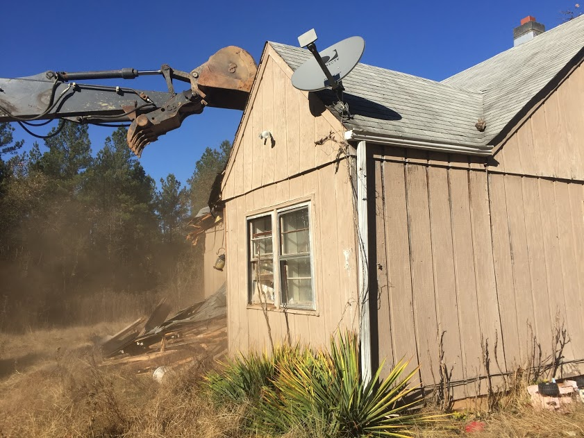 old house demo 2