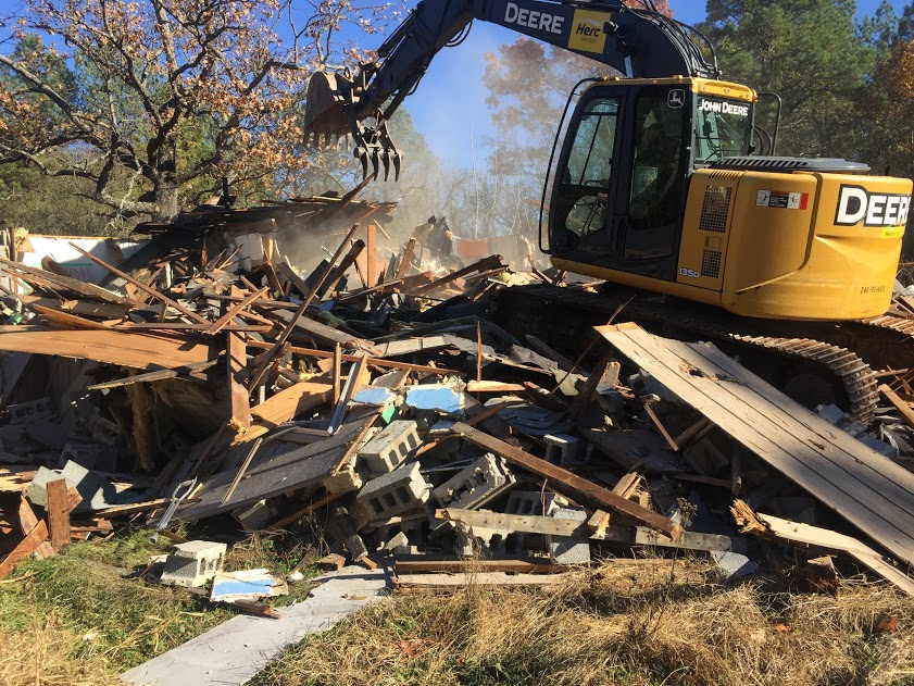 home tear down in maryland