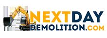 Next Day Demolition Logo